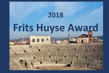 Fritz Stiefel is the winner of the Frits Huyse Award 2019
