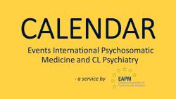 Calendar – a service by EAPM